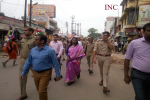 Muzaffarnagar: Commissioner of Saharanpur, DIG Saharanpur, District Collector and SSP Muzaffarnagar, taking stock of security arrangements of Kawand Marg